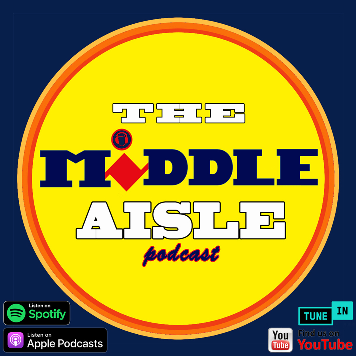 Hosted By The Middle Aisle Podcast